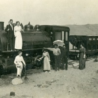 Excursion to the Phoenix Sand & Gravel train