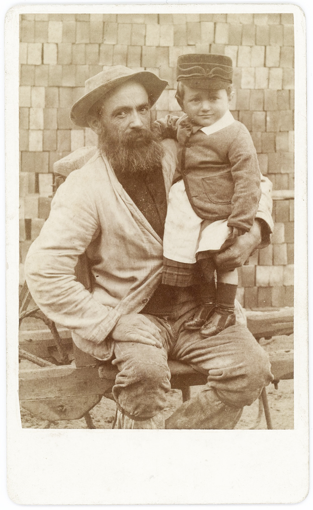 Brickmaker and son 2