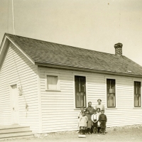 School near Bostonia, North Dakota