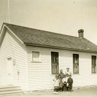 School near Bostonia, North Dakota
