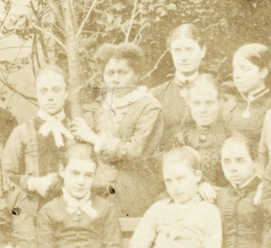 Schoolgirls in London by Turner 5 detail 1