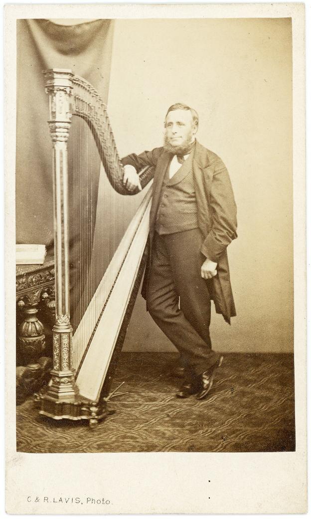 Harpist by Lavis 3