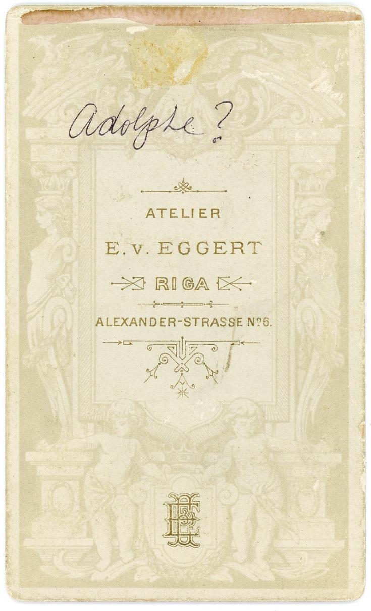 Adolph by E.v. Eggert 3d