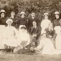 Lennel House staff, Coldstream, Scotland
