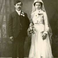 Newlyweds in Torah, Minnesota