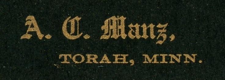 Torah, Minnesota 3