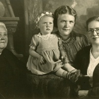 Four generations in Osterode am Harz, Germany