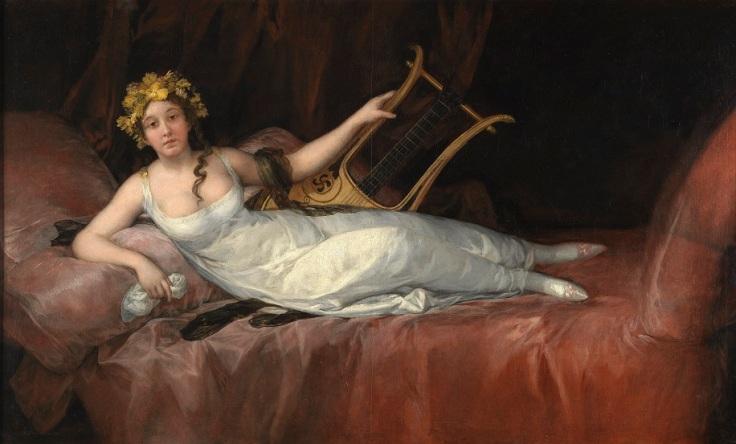 Joaquina Téllez-Girón, Marquise of Santa Cruz (Museo del Prado)