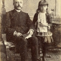 Father and daughter in Hamilton, Ontario