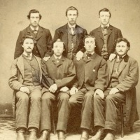 Young men in Vermont in the final December of the Civil War (1864)
