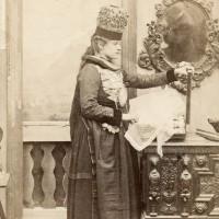 The artist in the mirror (Adolphe Braun)