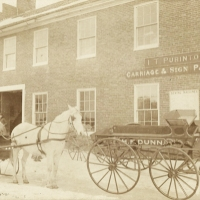 Ivan Purinton's shop in Exeter, New Hampshire