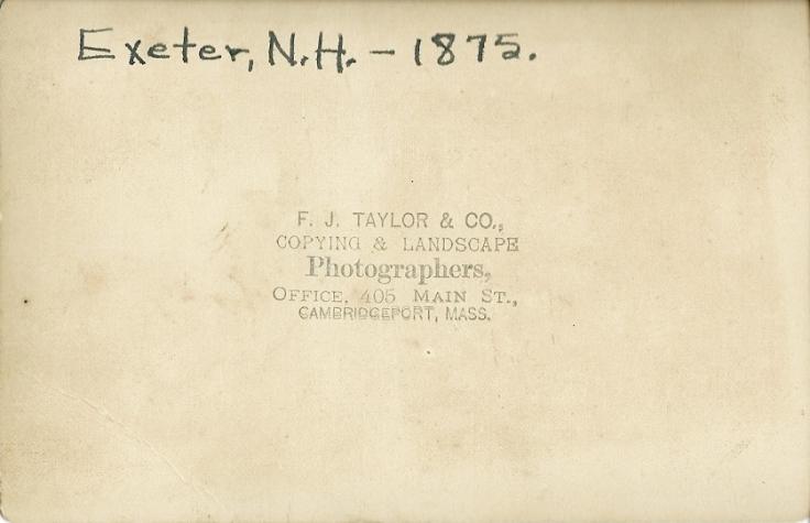 Ivan Tilton Purinton in Exeter, NH 2
