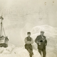 S.S. Corwin in the Ice, June 1908