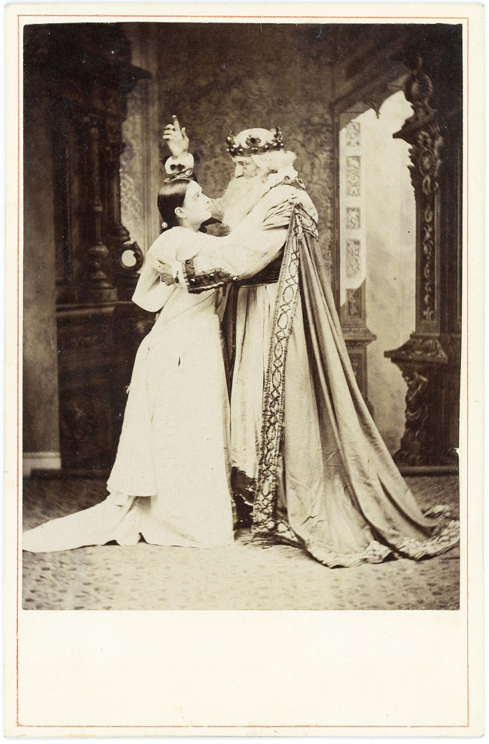 King Lear and Cordelia (maybe) 2