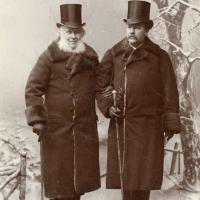 S.A. Hedlund and Viktor Rydberg by Torsten Hedlund