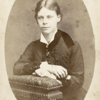Effie Hegermann-Lindencrone at eighteen years old (1879)