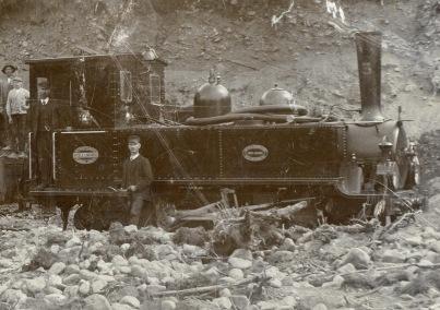 Axel E. Lindvall's train 3
