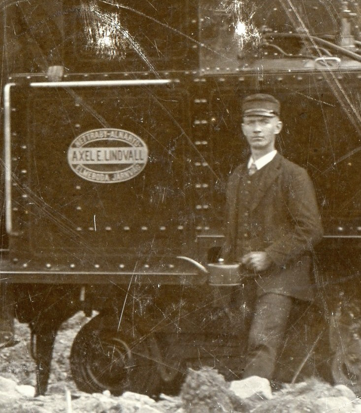 Axel E. Lindvall's train 4