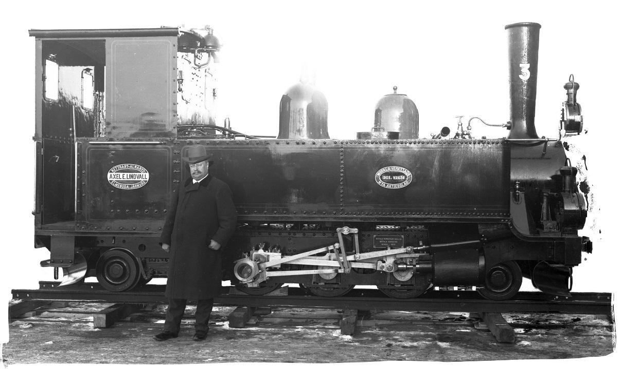 Axel E. Lindvall's train 6b (Järnvägsmuseet)