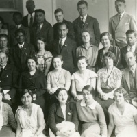 International group at Leeds University (1934)
