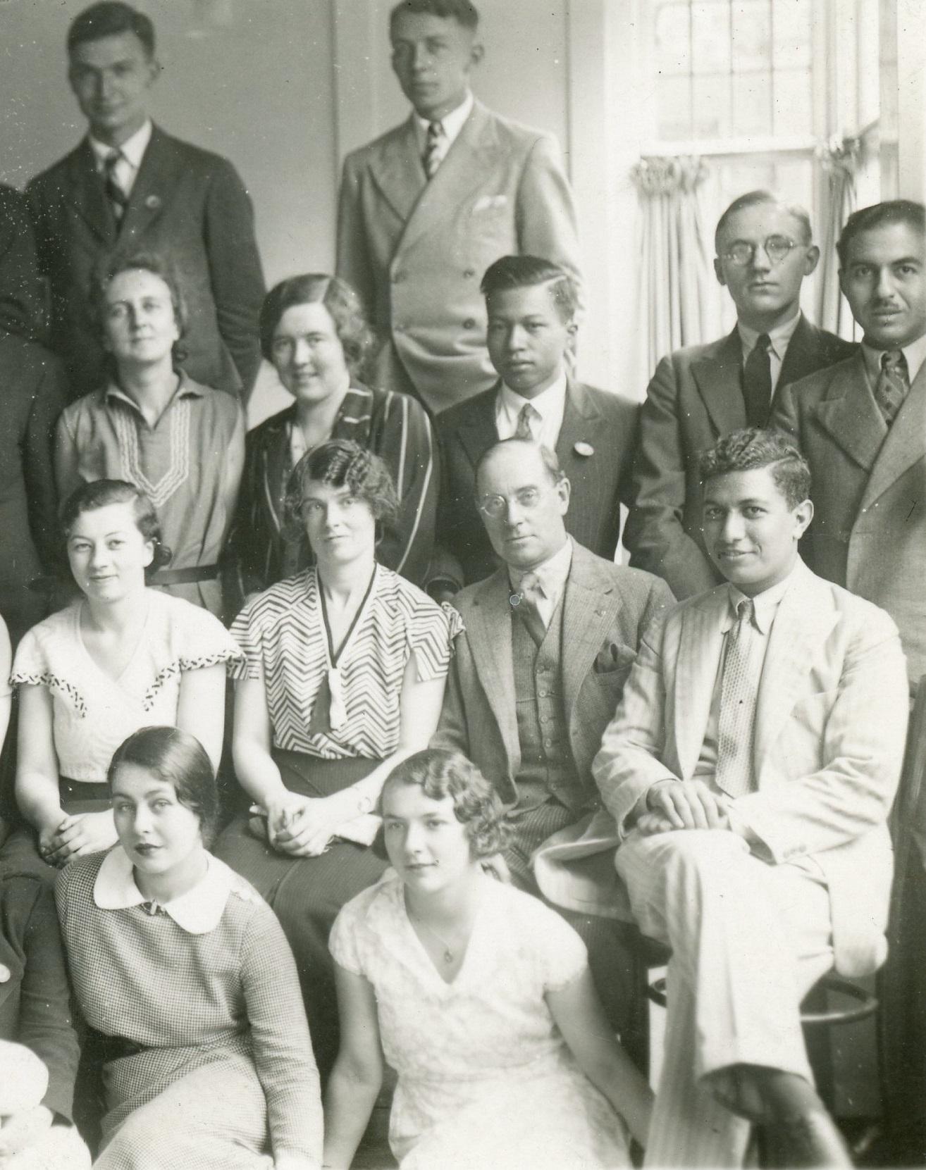 Group at Leeds University (1934) 4