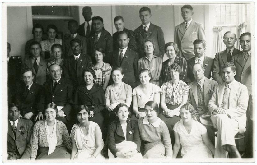 Group at Leeds University (1934) 5