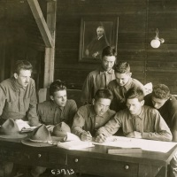 MIT students at Camp Cunningham (1917)