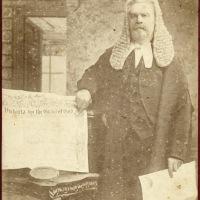 Man with royal charter